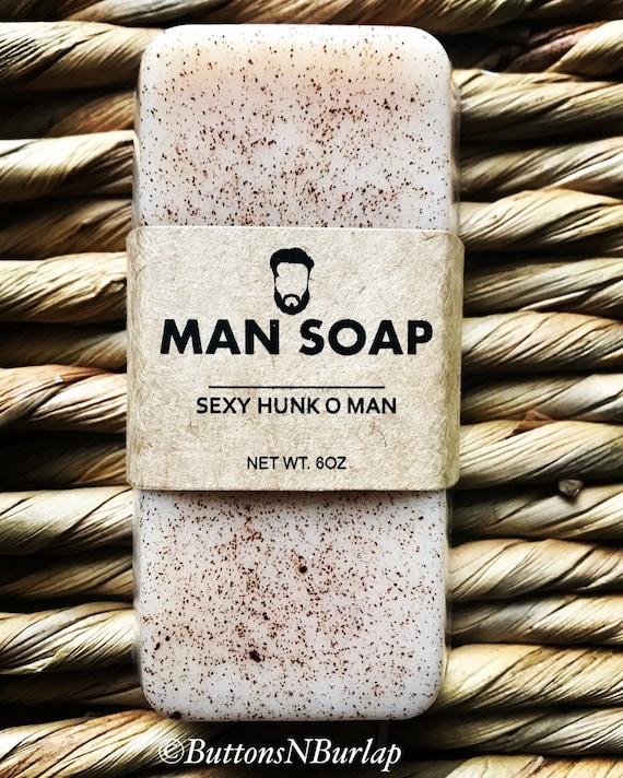 MANSOAP Sexy Hunk O Man- Organic Goats Milk Soap