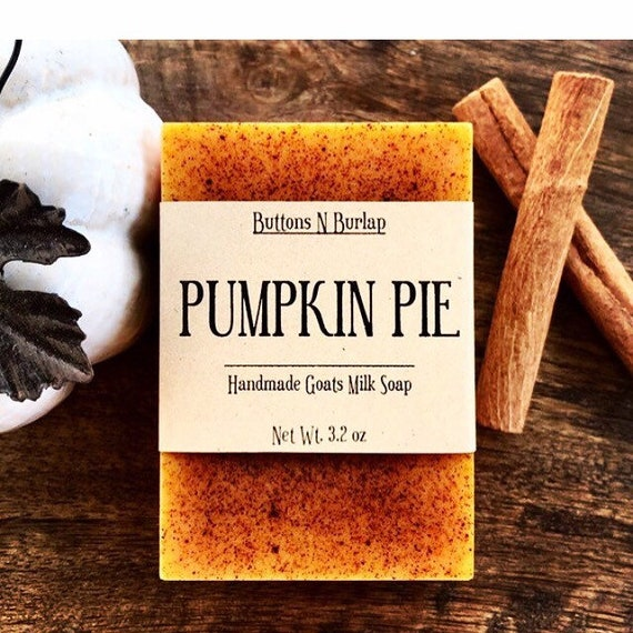 PUMPKIN PIE- Organic Goat Milk Soap