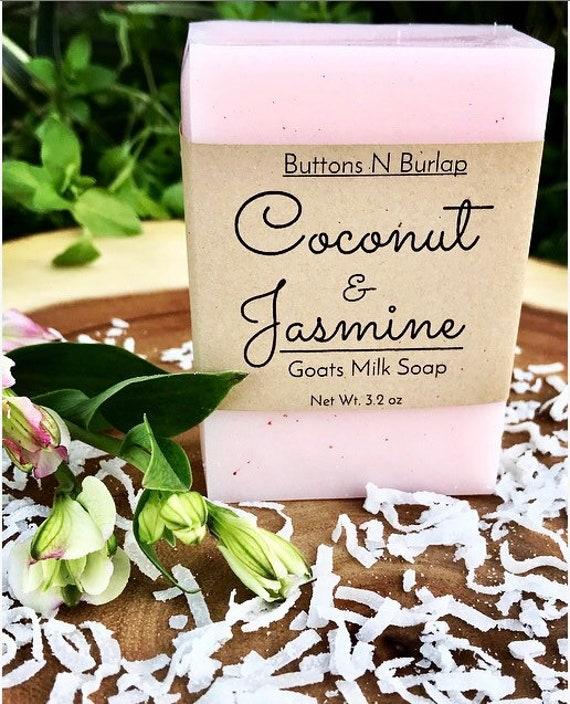Coconut & Jasmine- Spa Collection Soap