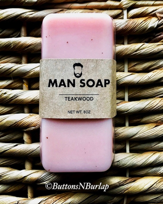 MANSOAP Teakwood- Organic Goats Milk Soap