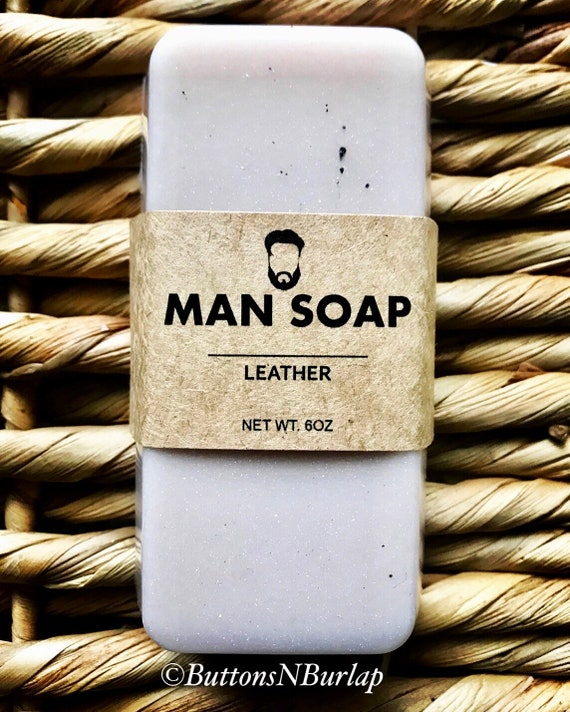 MANSOAP Leather - Organic Goats Milk Soap