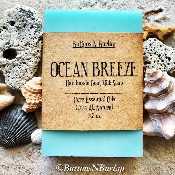 OCEAN BREEZE- Organic Goats Milk Soap