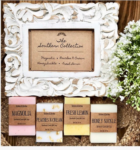 The Southern Collection- Goats Milk Soap Set of 4
