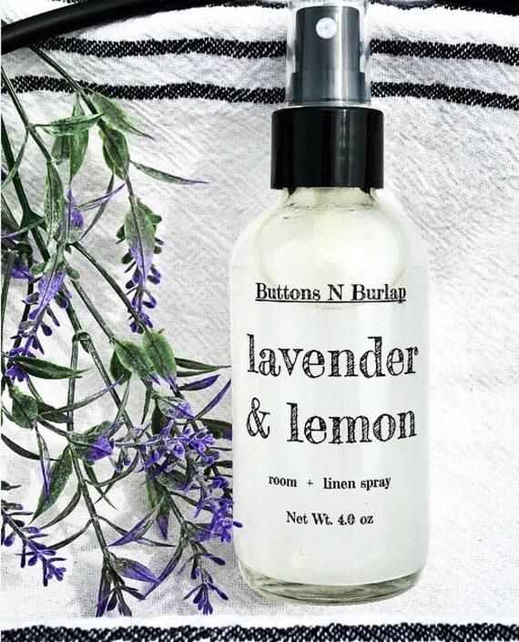 LINEN SPRAY- Lavender & Lemon
