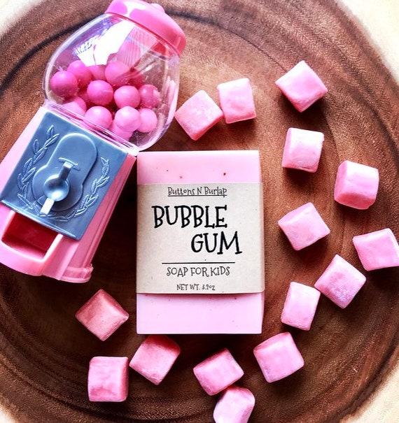 BUBBLE GUM- Soap For Kids