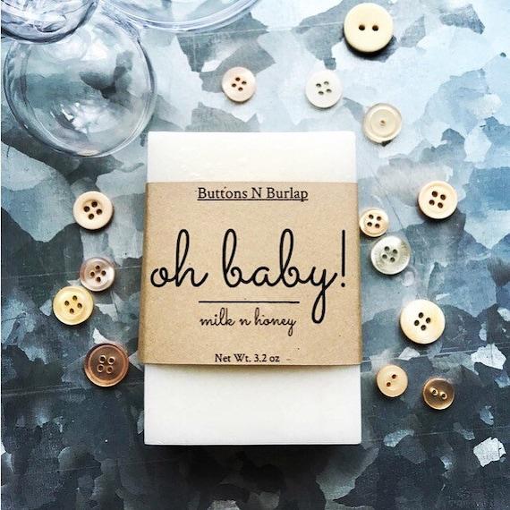 BABY SOAP in Milk N Honey