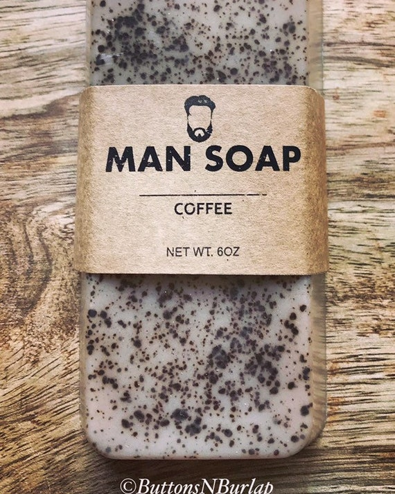 MANSOAP Coffee- Organic Goats Milk Soap