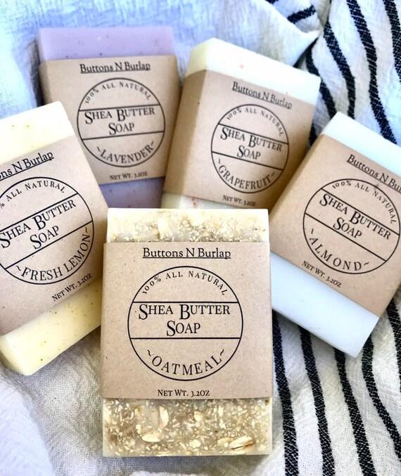 Shea Butter Soap- 100% Organic