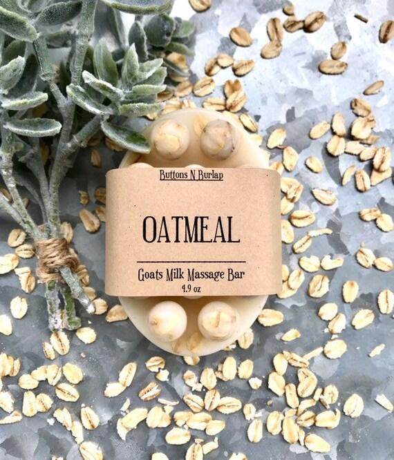OATMEAL- Massage Bar Soap
