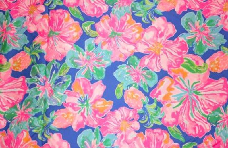 Jungle Fabric Rainbow Fabric Flower Fabric Fabric Yard Colorful Fabric Neon Fabric