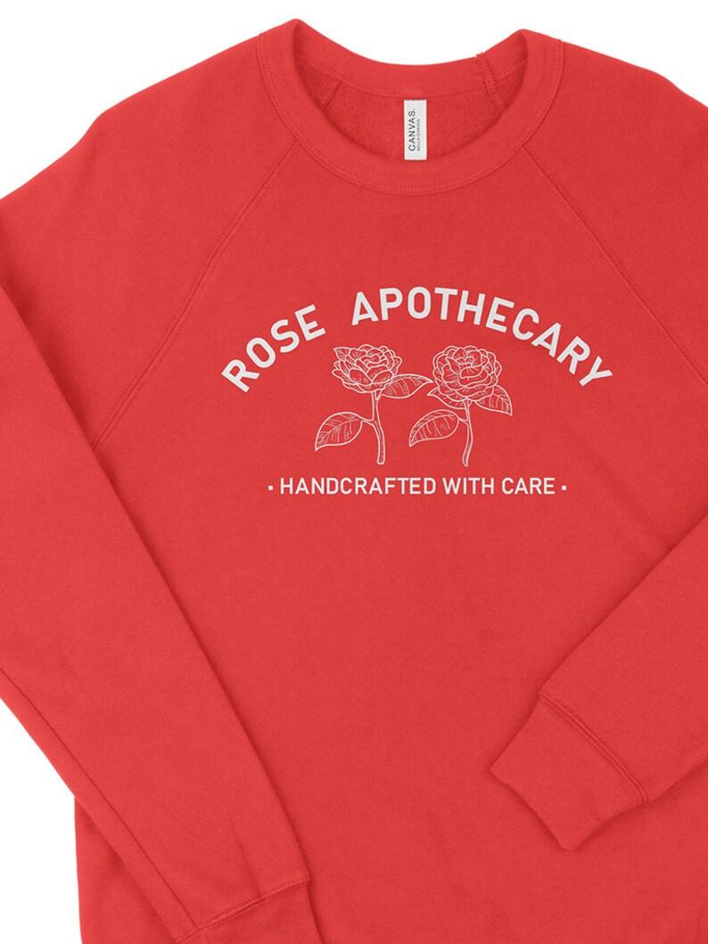 Rose Apothecary Crewneck Sweatshirt   Etsy