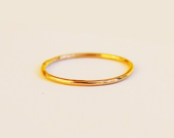 14K Gold Filled Ring - Gold Ring - Gold Stacking Ring