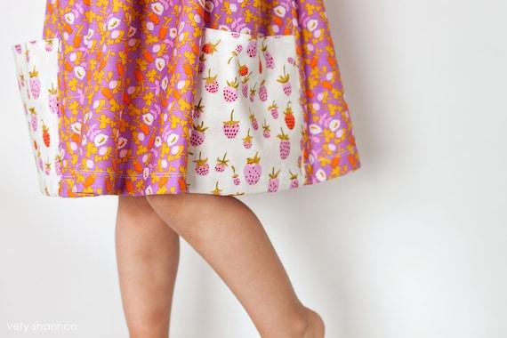Sally Kleid Nähen Muster Jahrgang modernen großen Taschen   Etsy