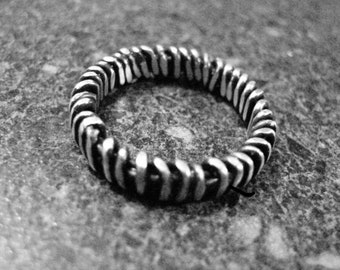 CROWN of THORNS Ring - Sterling Silver, Christian Jewelry, Custom Made to Order, Religion Jewelry, Faith Symbol, COTS39