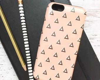 Triangles iPhone Case - Tough Case for iPhone & Samsung Galaxy - Tribal, Geometric, for Her, Tech Accessory, Modern