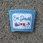 Ew, David! -- A Schitt's Creek, Alexis, and David Rose Tribute Coffee Sleeve -- Made to Order