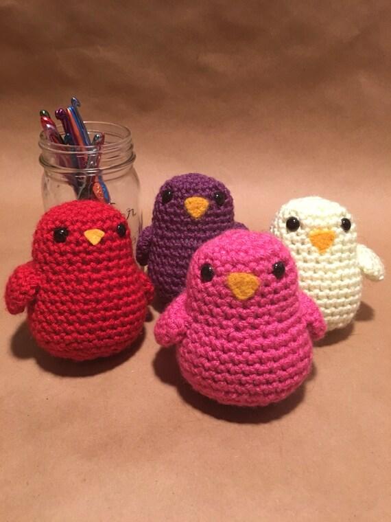 Crochet Amigurumi Vogel Dicke Fette Birdy | Etsy