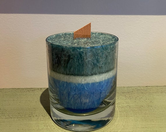 Men's Cologne Wooden Wick Candle