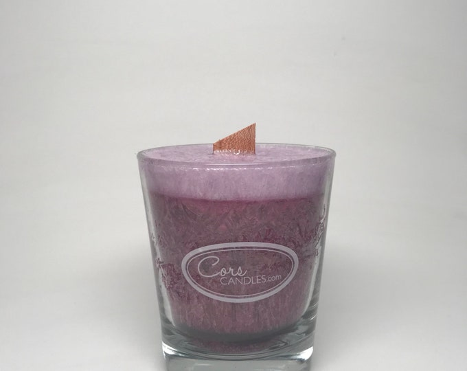 Vegan Wooden Wick- Lavender Candle