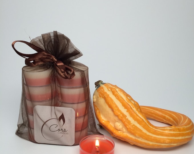 Pumpkin Pie Tealights