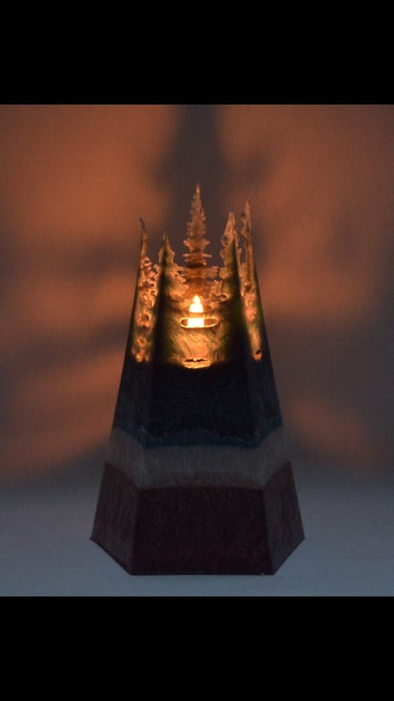 Vegan Pyramid Candle
