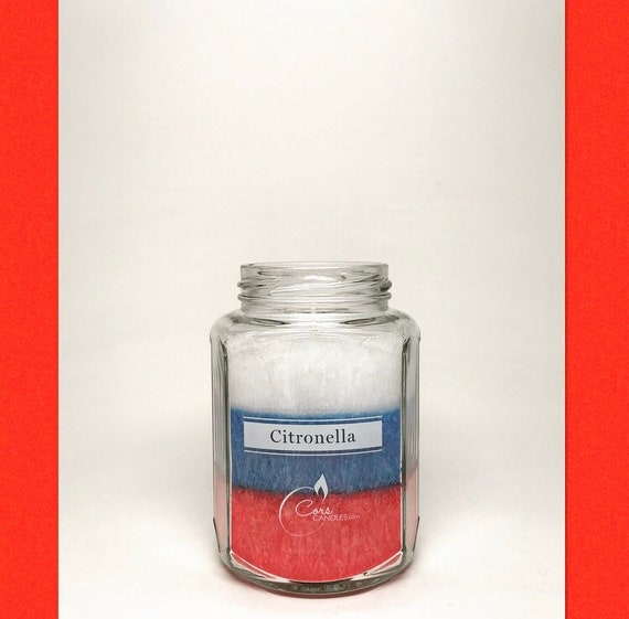 July 4th Citronella Candle