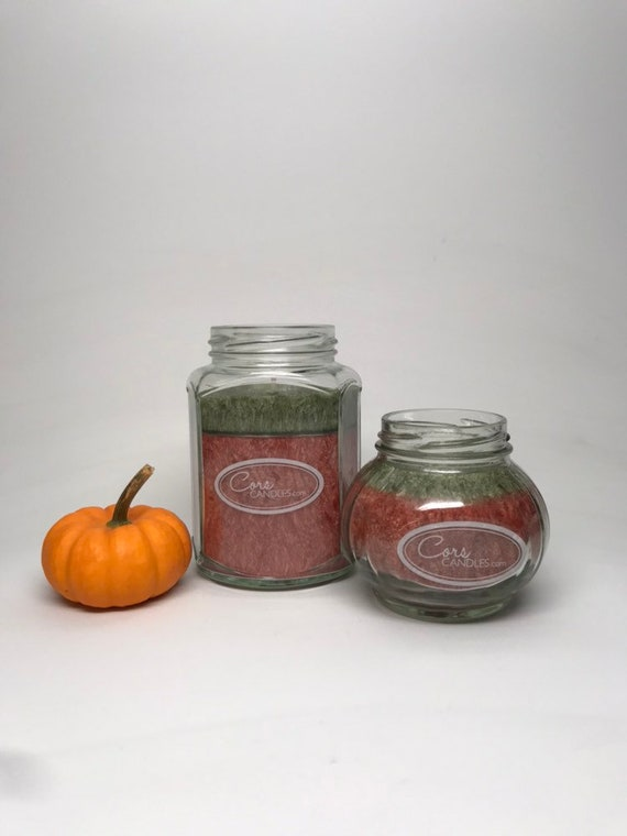Set of Two Pumpkin Pie Candles