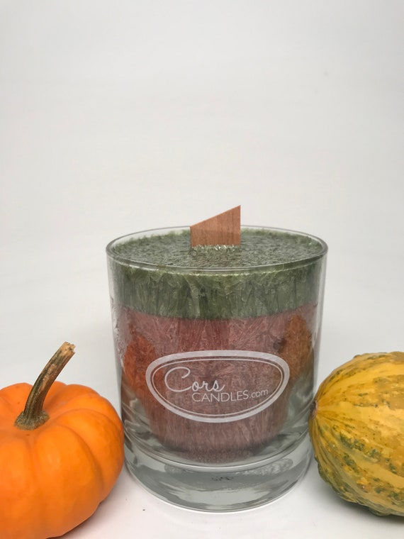 Wooden Wick Pumpkin Pie Candle