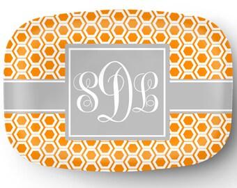 Personalized Platter, Monogram Platter, Custom Platter, Serving Platter, Hostess Wedding Gift Housewarming Tray Gifts for Mom