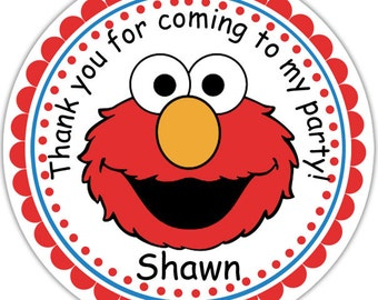 Elmo - Personalized Stickers - ramoslesley24