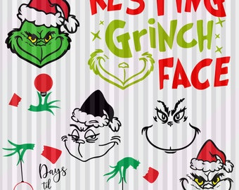 The Grinch Svg Etsy