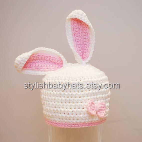 Osterhase Hut Kaninchen Hut häkeln Bunny Mütze häkeln | Etsy