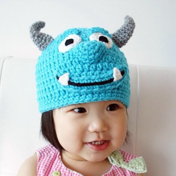 Sombreros de monstruos Mike Sulley Boo monstruo de | Etsy