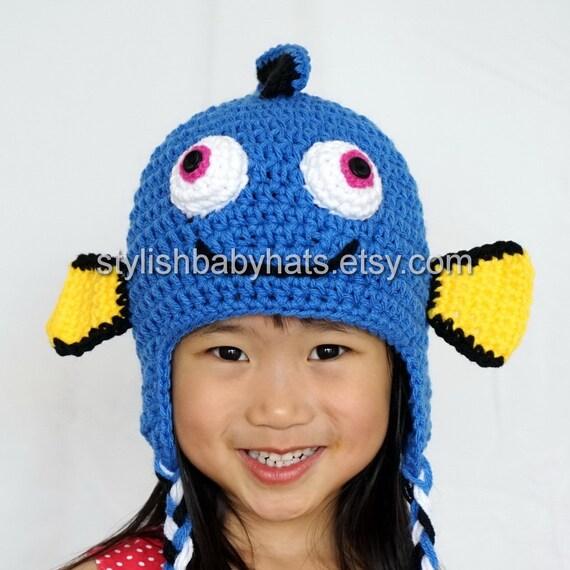 Suche nach Dory Hut Fisch-Hut häkeln Babymütze Tier-Hut | Etsy