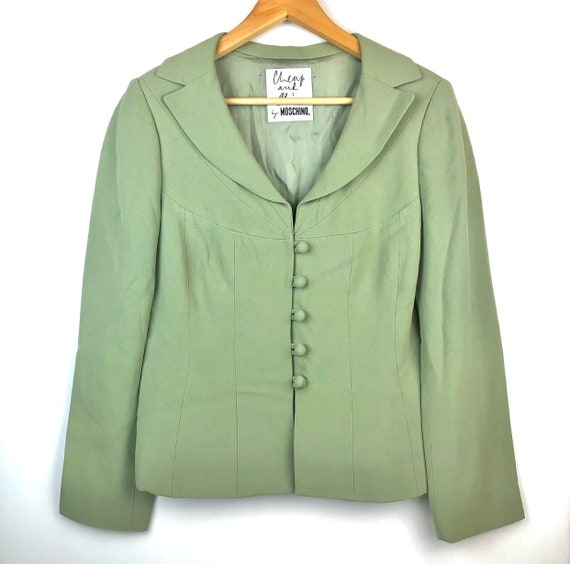 vintage 90s 2KY Moschino Cheap And Chic blazer mat