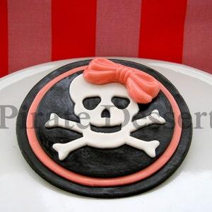 1 piece CAPTAIN JACK Fondant Cake Topper Edible Cake Topper Pirate Captain/'s Hat Pirate Cake -