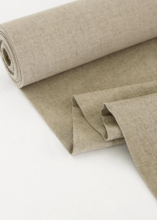 Rouleau de 10 % de réduction-11s lavage, lavage, lavage, tissu en lin, Lin brut, tissu Lin brut, lin Beige grisé par le 10 yard - 900 cm (354