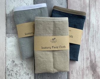 Pure Linen Face / Wash Cloth