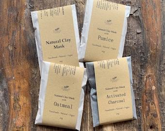 Natural Clay Face Masks - Sample Sachet