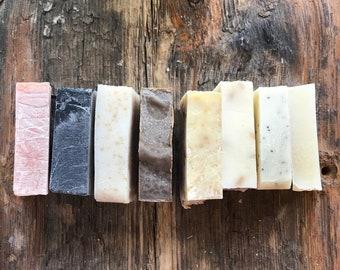 Vegan Organic Soap - Scented Sample Bars