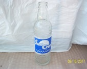 1955 Suncrest National NuGrape Atlanta GA 10 oz clear acl painted label soda bottle 8 1 2 quot tall No 3