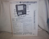 1950 39 s RCA Victor TV Radio Receivers Howard Sams Repair Pamphlet Catalog Manual