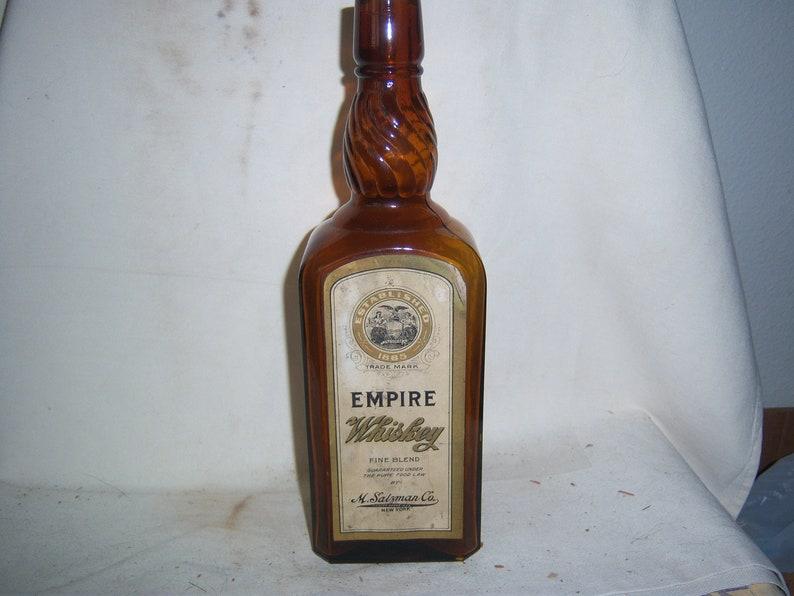 33ac5191bbe8f7 1900 s M. Salzman Co Empire Whiskey New York Rectangle