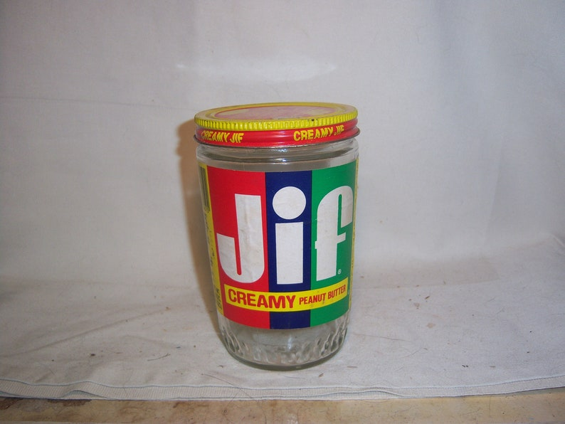 Phenomenal 1970S Jif Peanut Butter Proctor Gamble Cincinati Ohio Jar Or Bottle With Paper Label No 1 Forskolin Free Trial Chair Design Images Forskolin Free Trialorg