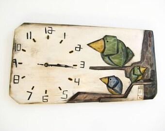 Bird Clock_Horloge Oiseau