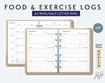 simple weekly exercise log