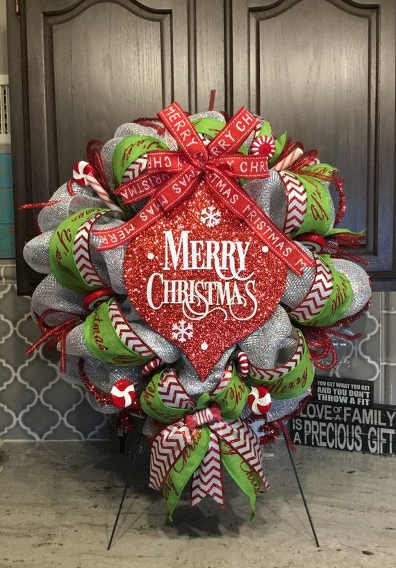beautiful xmas wreath merry christmas wreaths door wreath - Beautiful Christmas Wreaths