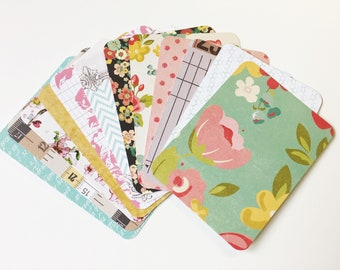 Journal Cards - 3x4 - 2 Dozen - Double Sided - Hand Cut - Junk Journals - Pocket Letters - Planners - Scrapbooking - Project Life
