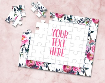 Create Your Own Puzzle Announcement Ideas Pregnancy Announcement CYOP0020 Personalized Puzzle Wedding Announcement Custom Puzzle