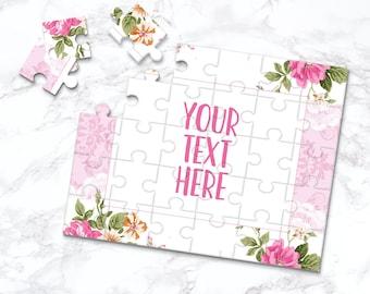 Wedding Announcement Custom Puzzle Personalized Puzzle CYOP0042 Announcement Ideas Create Your Own Puzzle Pregnancy Announcement